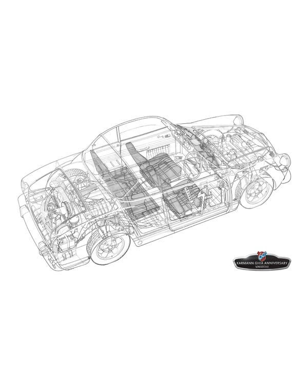 Karmann Ghia Druck, begrenzte Auflage