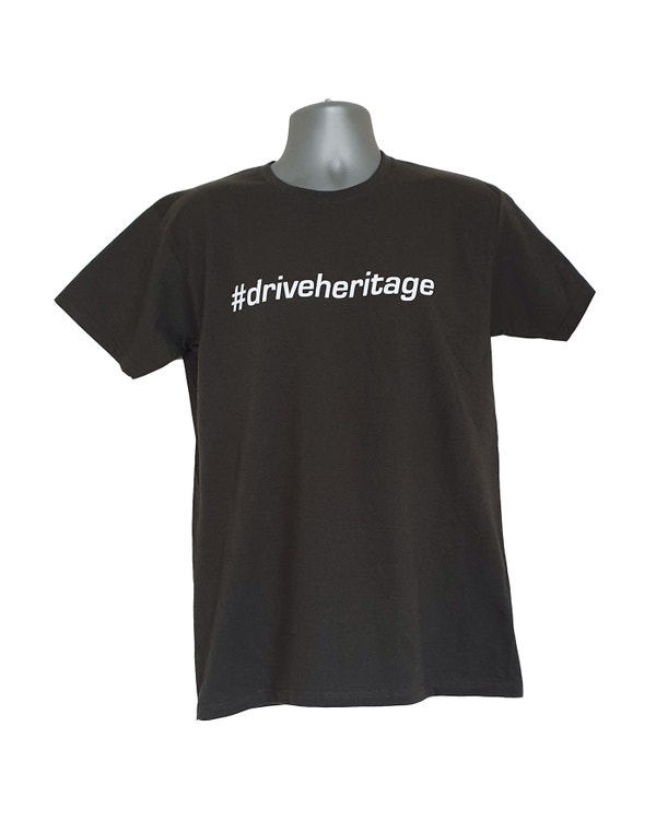 #driveheritage T-Shirt in Grey, Large