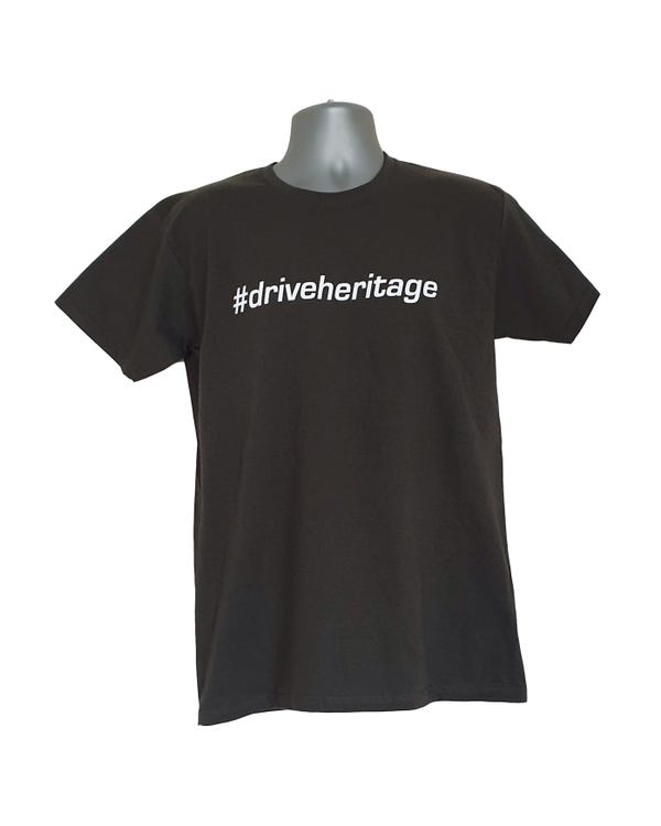 #driveheritage T-shirt in Grau, L