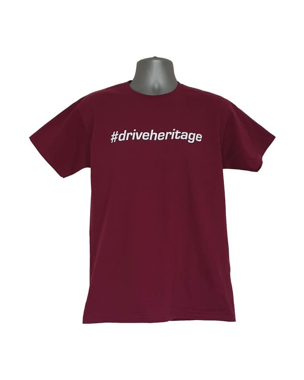 #driveheritage T-Shirt in Plum, Large