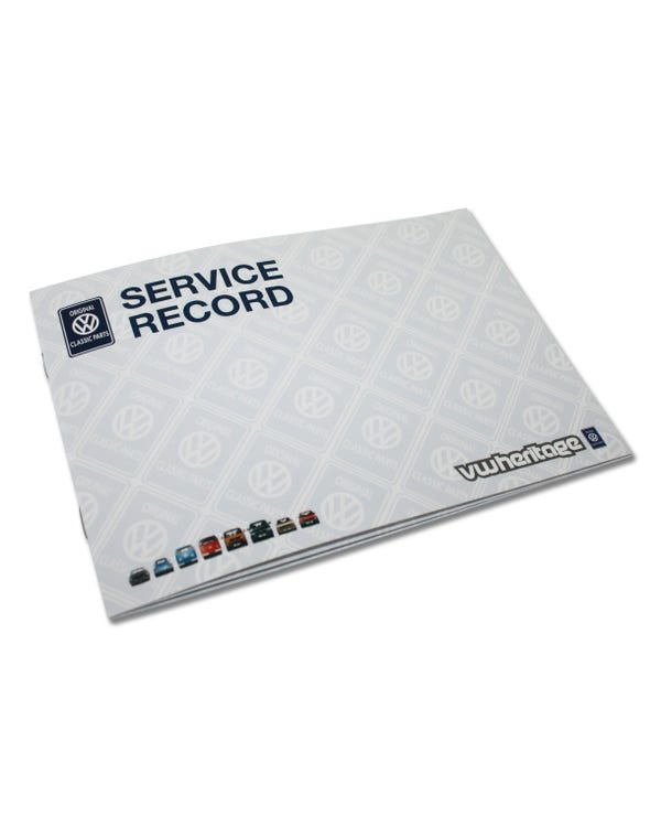 VW Heritage Service Record Book