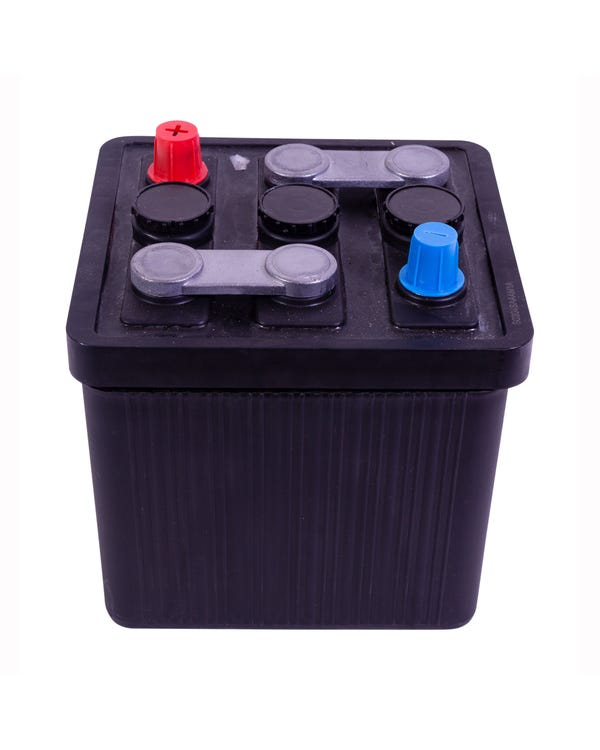 Battery 6 Volt 66 Amp/Hour supplied Dry