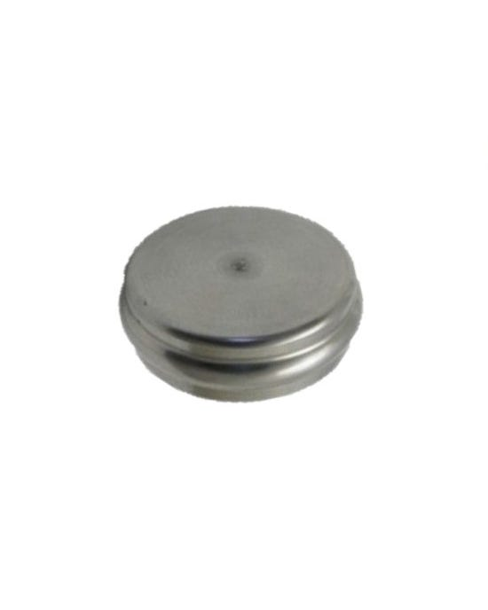 Core Plug for Camshaft In Crankcase, Machined Stainless Steel