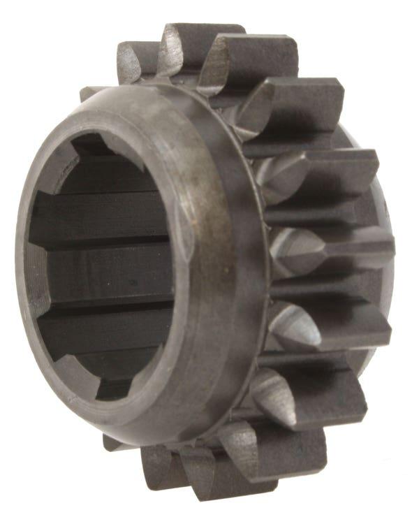 Schiebegetriebe, Rückwärtsgang, Getriebe, 17 Zähne, grob