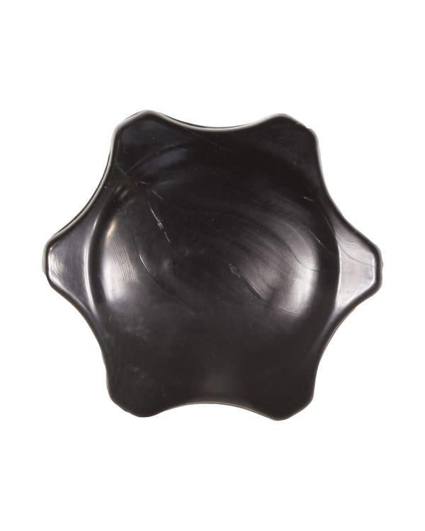 Heater Control Knob in Black