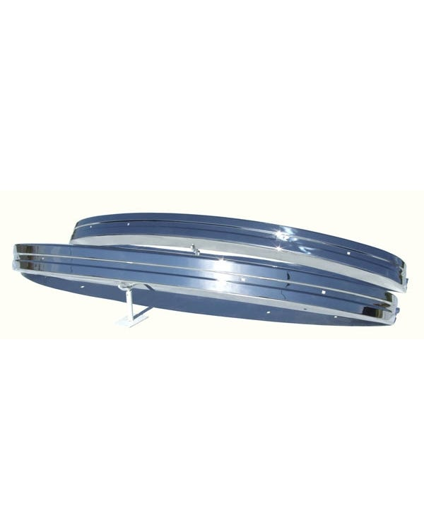 Europa Bumper Set Front and Rear Stainless Steel