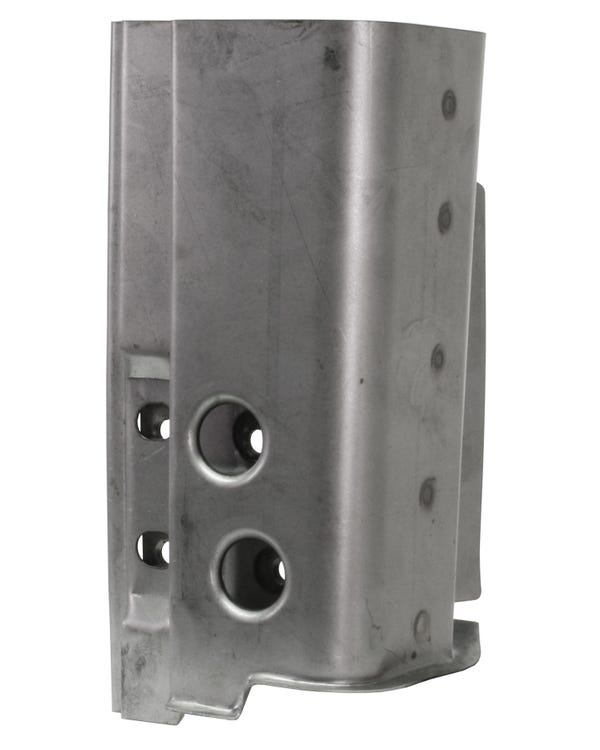 A-Post Lower Door Hinge Repair Section for the Left Side, 4 Hole