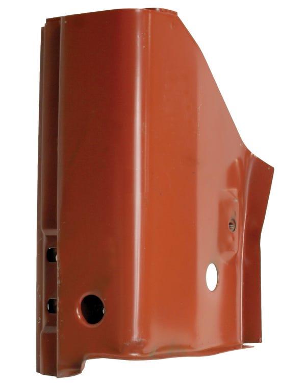 Panel Reparación pilar A. bisagra. Izquierdo. 3 orificios