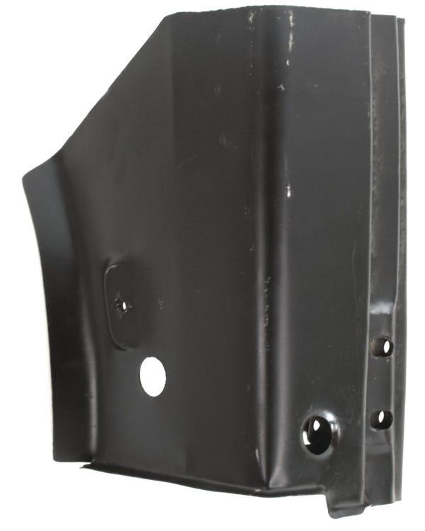Panel Reparación pilar A. bisagra. Derecho. 3 orificios