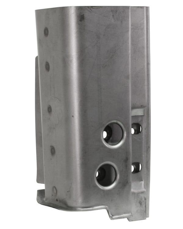 Panel Reparación pilar A. bisagra. Derecho. 4 orificios