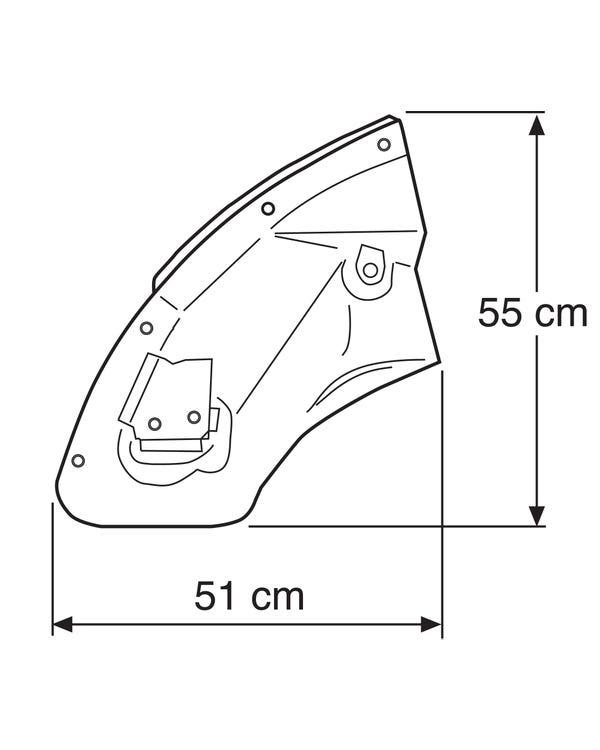 Reparaturblech für die Stoßstangenaufnahme, vorne links