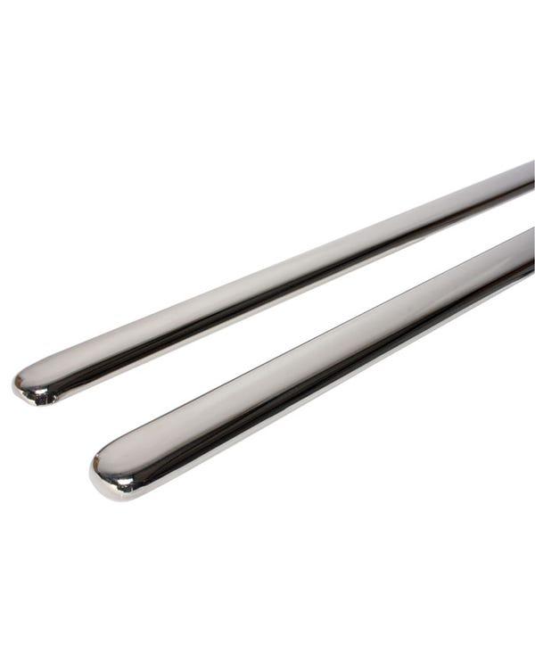 Running Board Trim Stainless Steel 33mm Pair