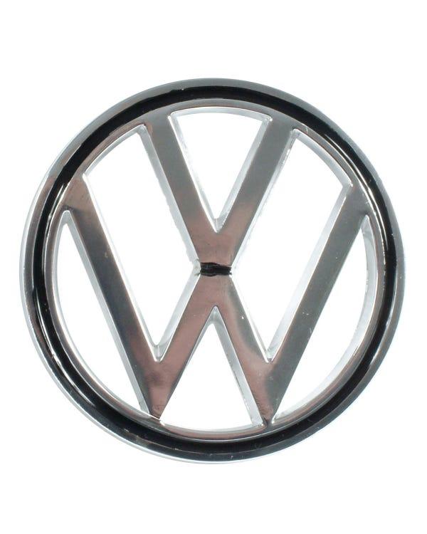 VW Chrome Hood Badge