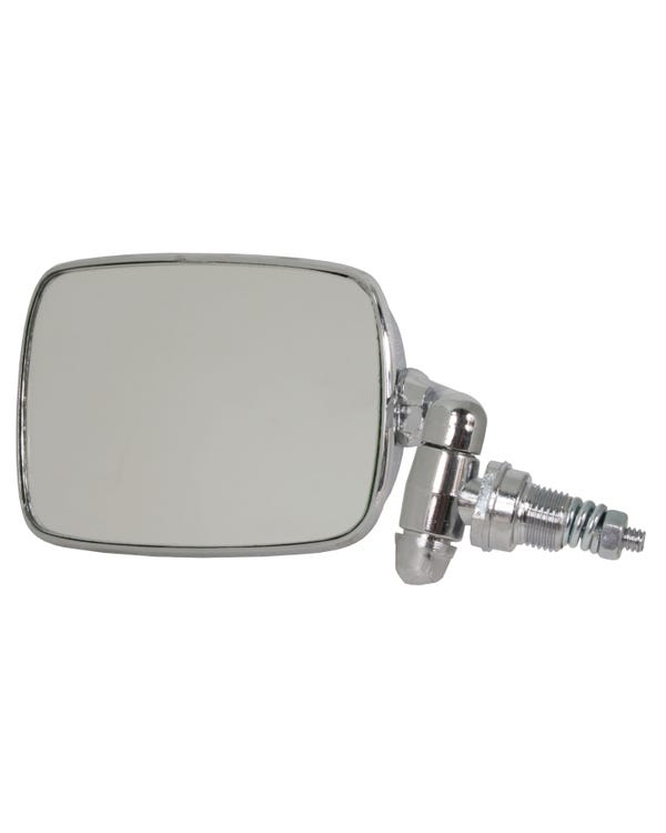 Wing Mirror with a Chrome Arm and Head Left