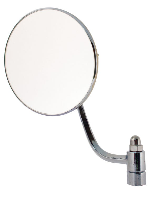 Round Wing Mirror for the Left Side