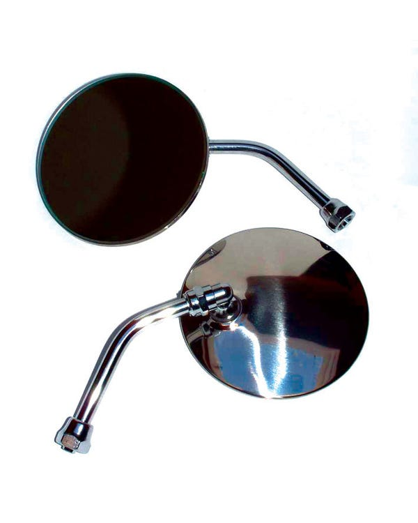 Wing Mirror with a Round Head Left or Right