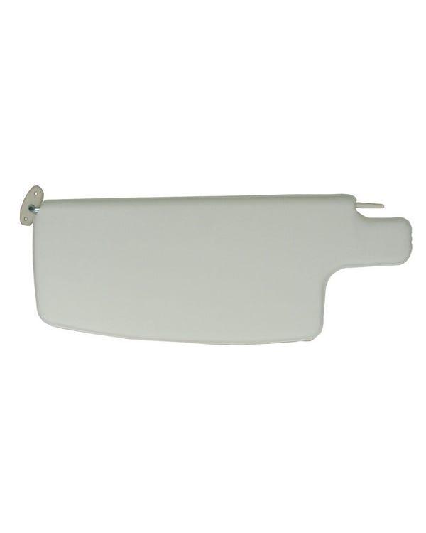 TMI Sun Visors in White, Supplied as a Pair
