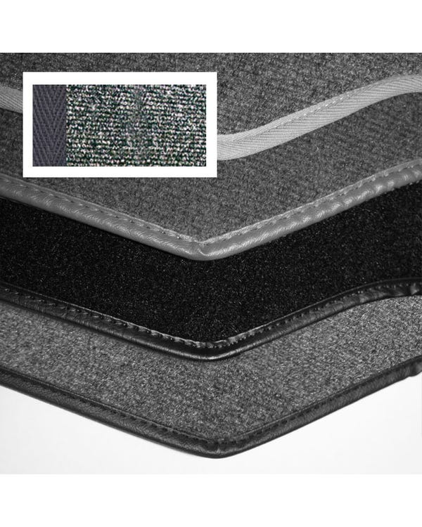 Carpet Set for Left Hand Drive Charcoal 1303