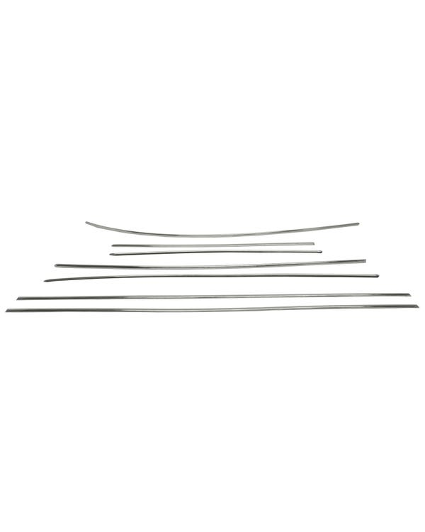 Deluxe 7 Piece Trim Set in Stainless Steel
