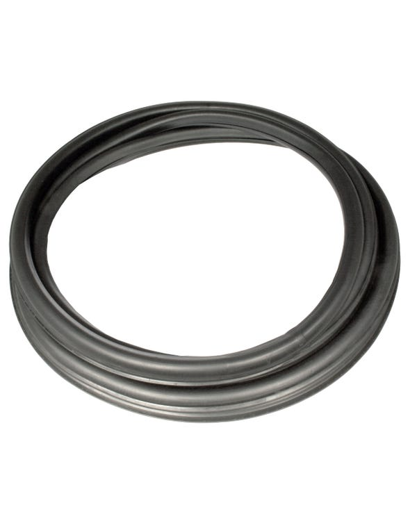 Window Seal set with Metal Trim Recess for Fixed Windows