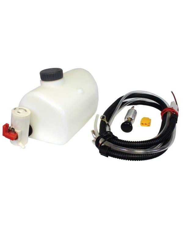 Waschbehälter mit 12-Volt-Pumpe