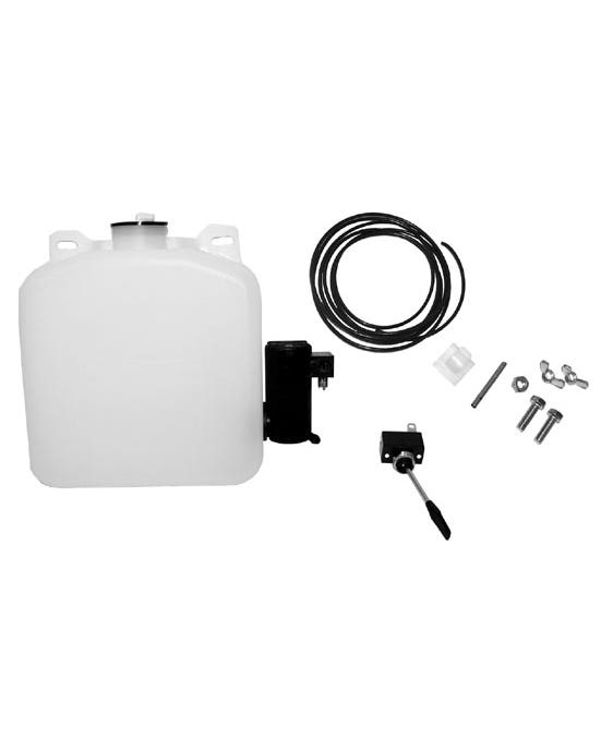 Washer Bottle with 12 Volt Pump Universal Fitment