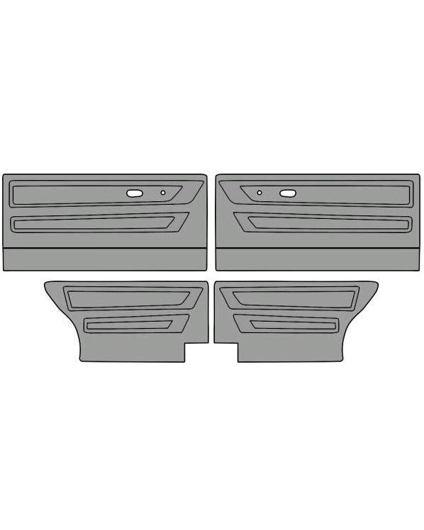 Door Card Set for Cabriolet Model in Two Colours