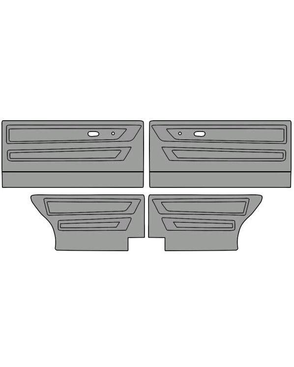 Türinnenverkleidungssatz für Cabriolet-Modell, zweifarbig