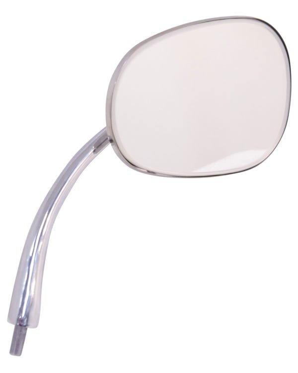 Oval Wing Mirror Right