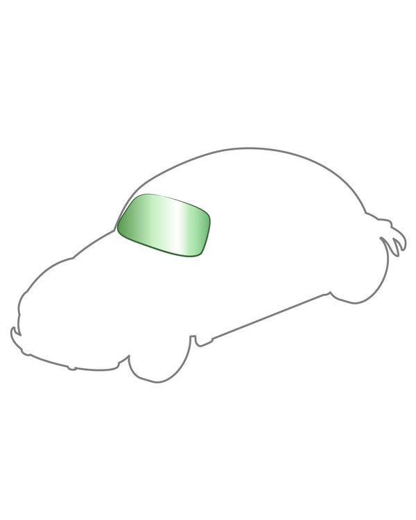 windshield with Green Tint for 1303 Models Only