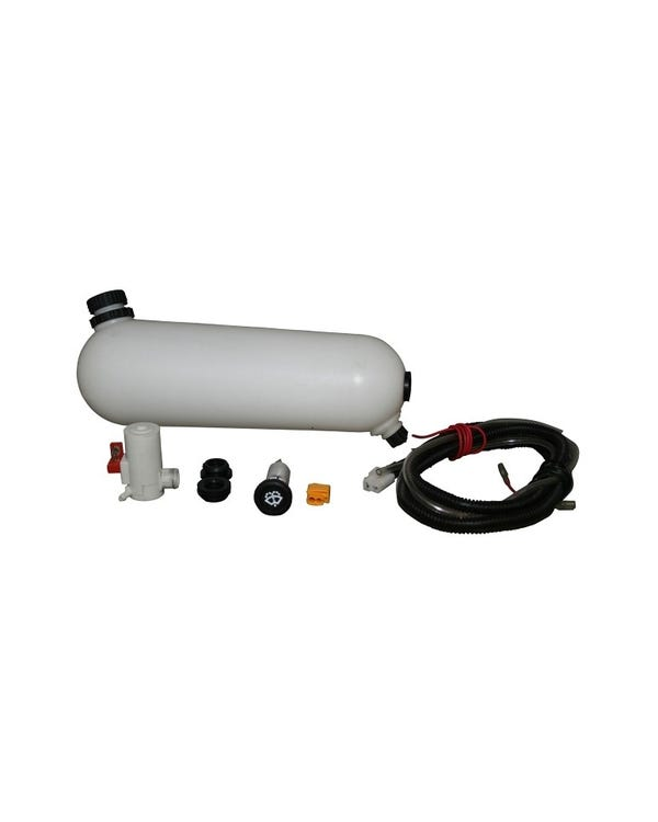 Washer Bottle Kit with 12v Pump, Switch & Wiring 1302/03