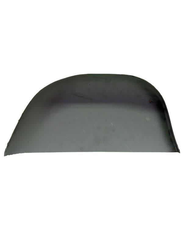 Reparaturblech für hinteren Kotflüge, unten rechts