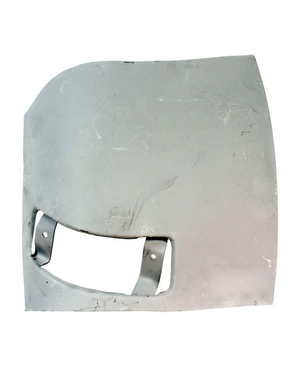 Reparaturblech  unterhalb der Scheinwerfer, links