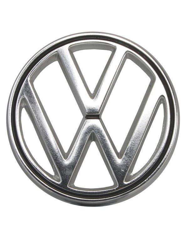 Nose Badge VW chrome, Karmann Ghia 56-74