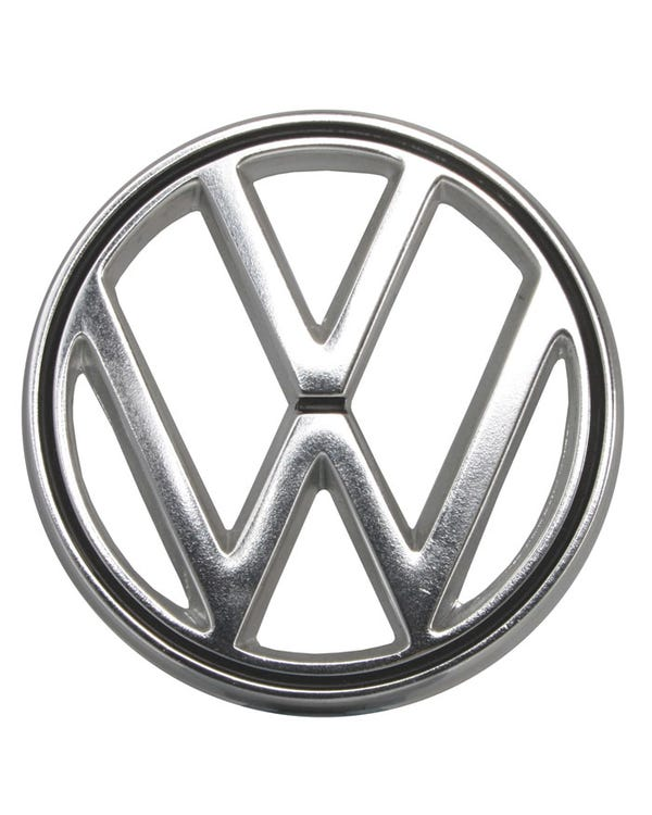 VW Logo, chrom