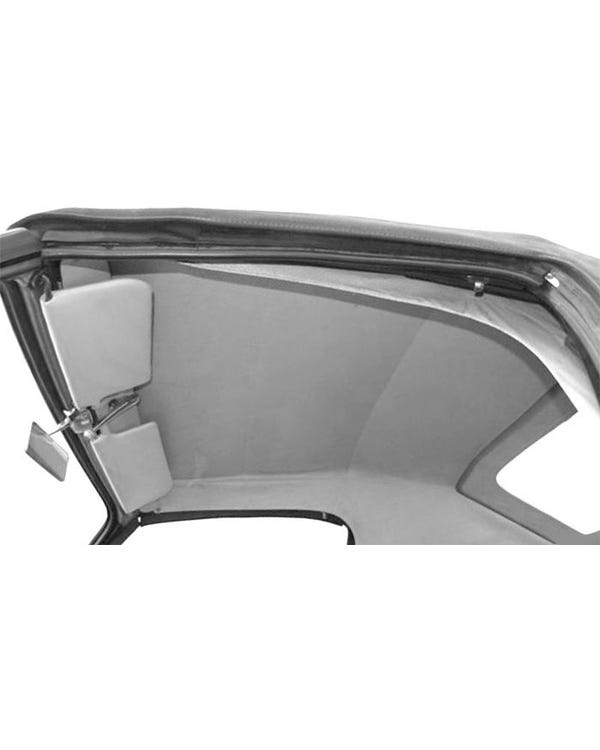Convertible Headliner in White Vinyl