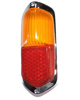 Rear Light Amber and Red Lens