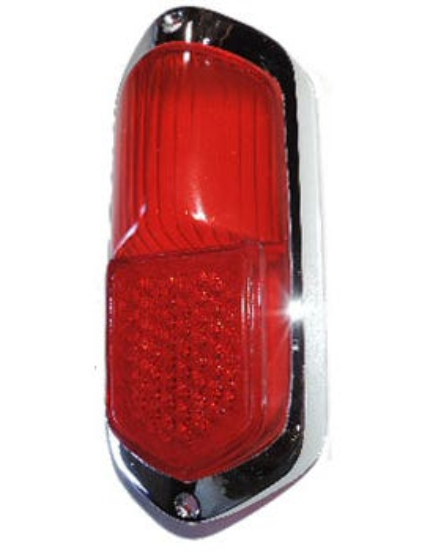 Rear Light All Red Lens