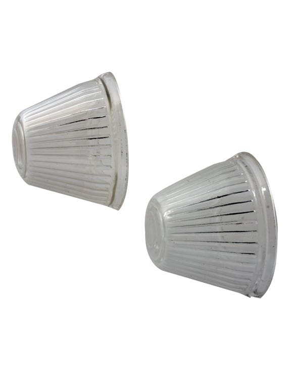 Front Indicator Lens Clear Pair