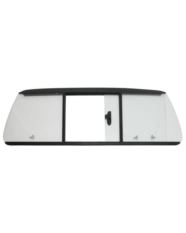 Schiebefenster, klar,  hinten