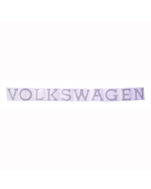 """VOLKSWAGEN"" Tailgate Decal"