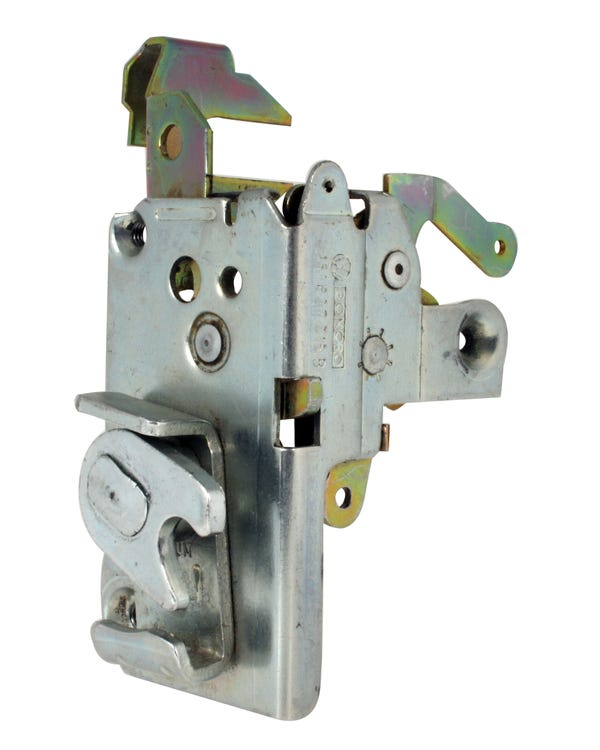 Left Door Locking Mechanism