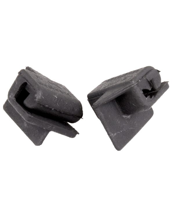 Rubber Wedges Front of the Rear Quarter Windows Pair
