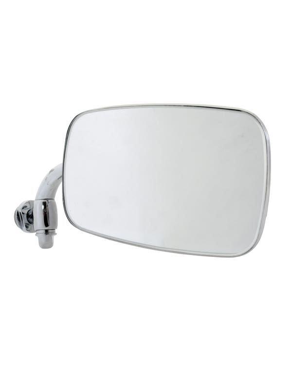 Chrome Door Mirror Assembly to fit the Right Hand Side