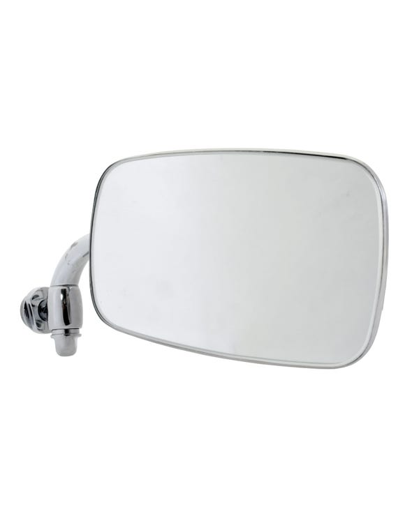 Chrome Wing Mirror Right