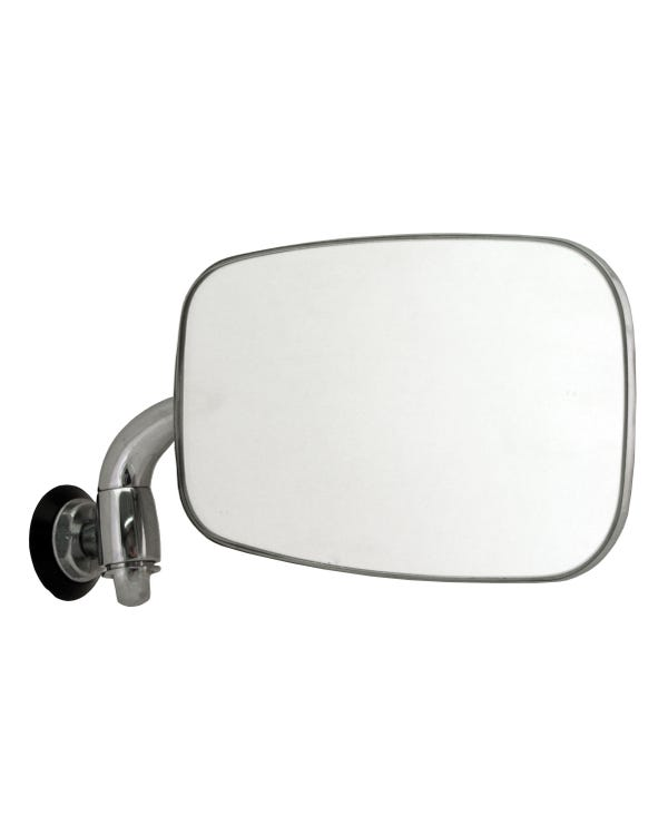 Wing Mirror Chrome Right for Left Hand Drive