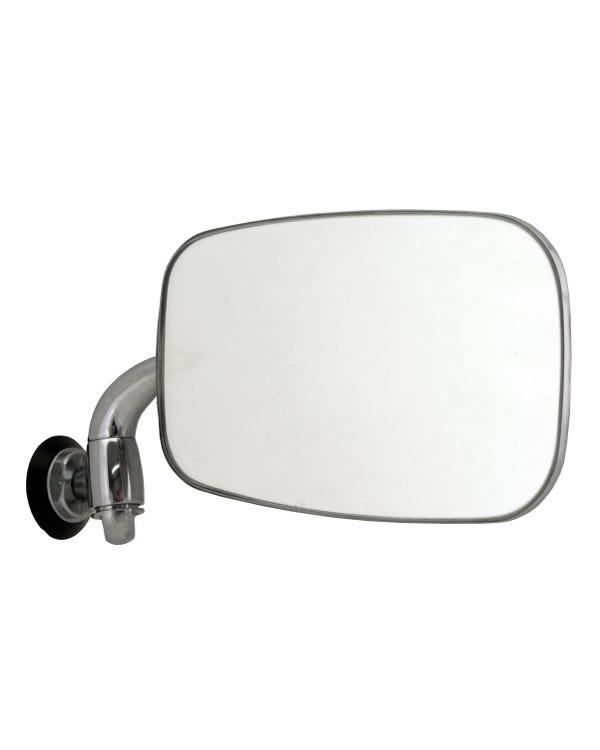 Außenspiegel, chrom, für Linkslenker, rechts