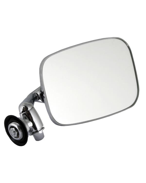 Door Mirror with Long Arm Stainless Steel for Left Hand Drive Right
