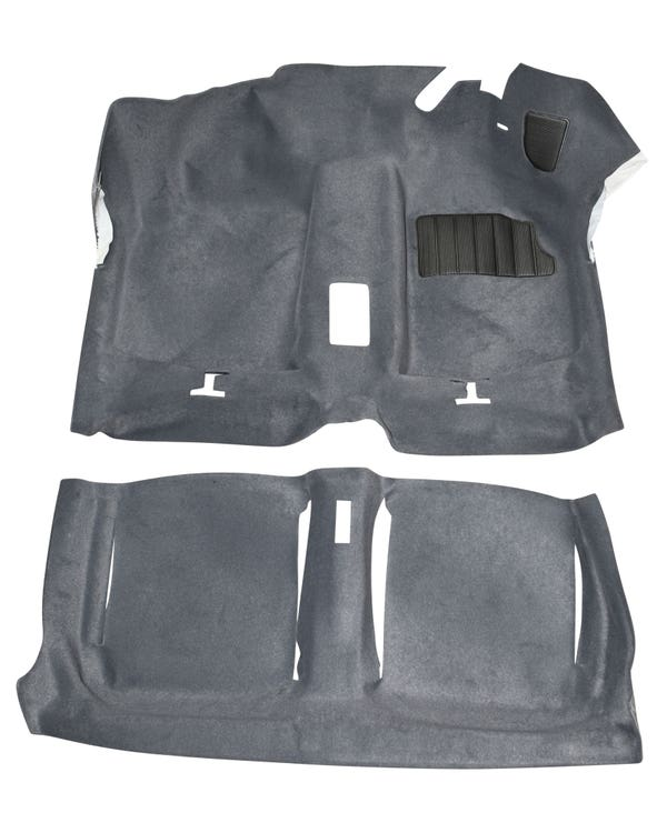 Carpet Set for Right Hand Drive Grey
