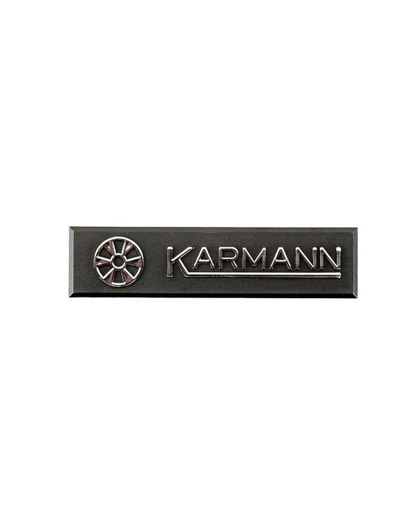 Badge - Karmann Makers Plate